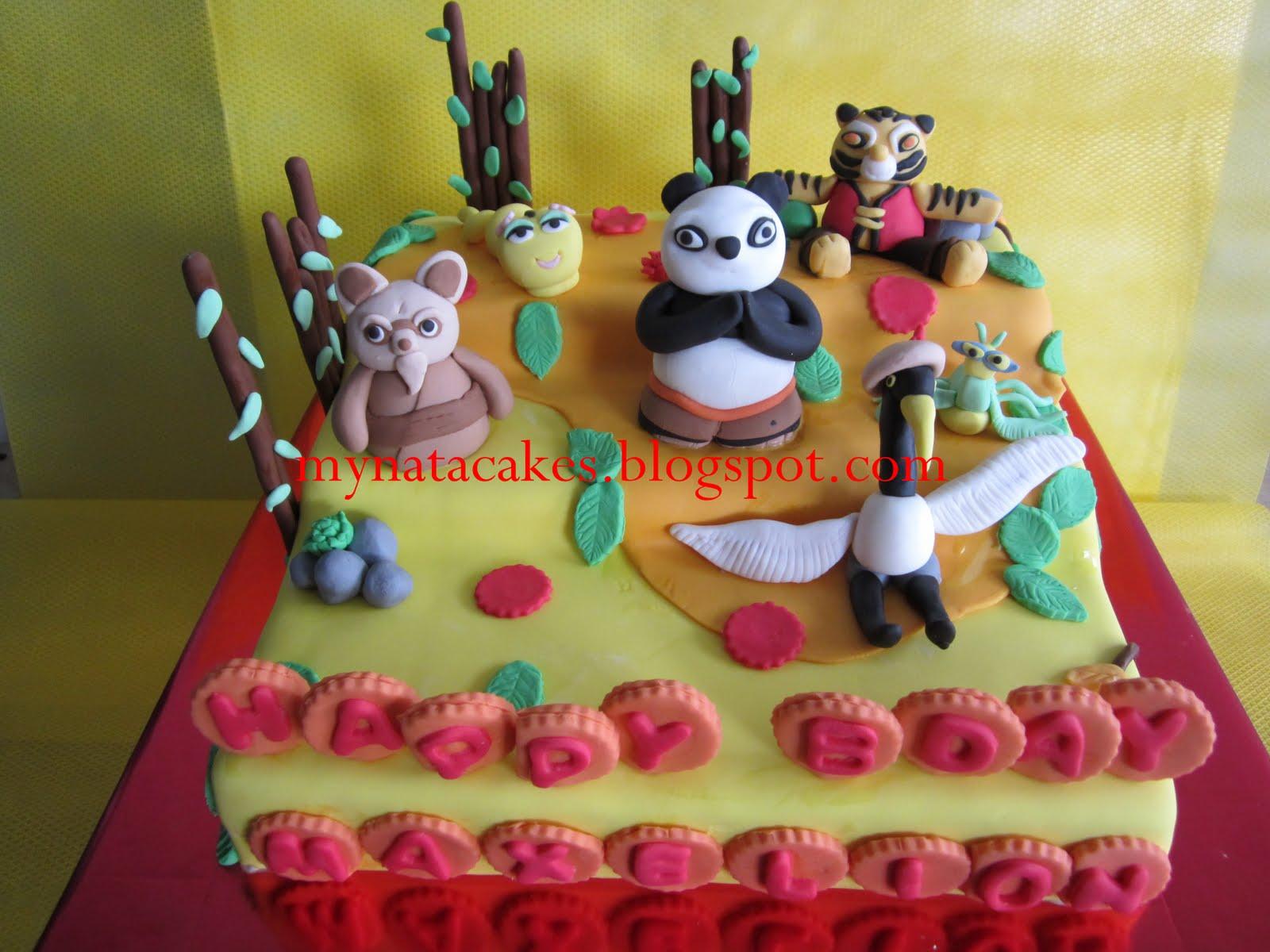 Mynata Cakes Kungfu Panda Birthday Cakes