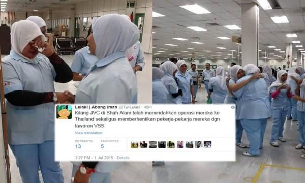 JVC Shah Alam Ditutup