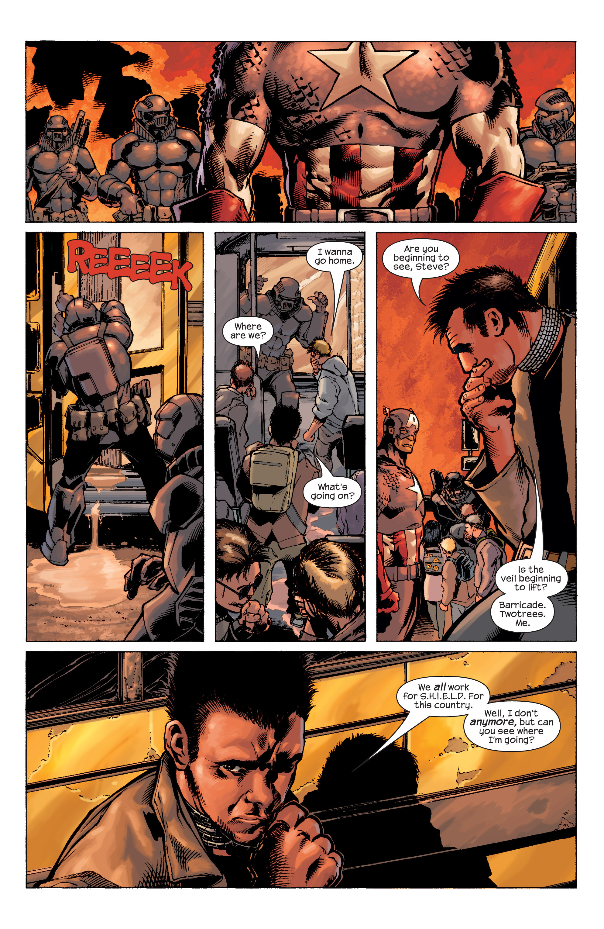 Captain America (2002) Issue #9 #10 - English 7