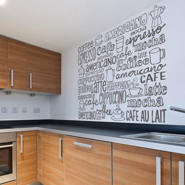 Papel pintado vinilos decorativos cocina - Cocinas con vinilo ...