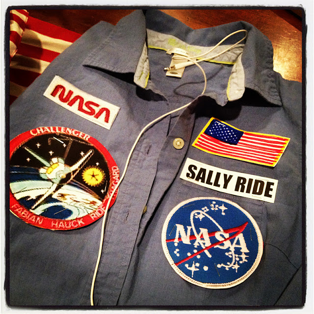 sally ride nasa name patch - photo #1