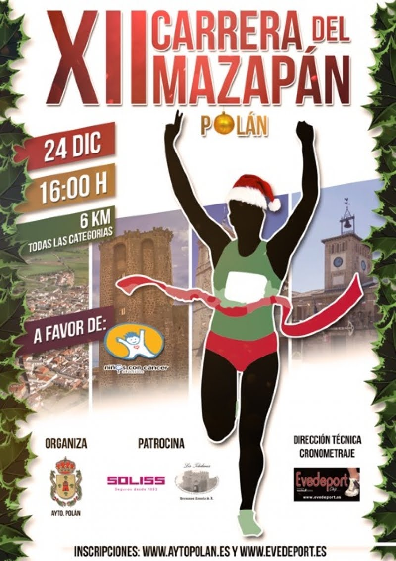 XII Carrera del Mazapán de Polán