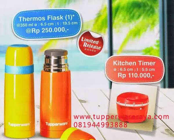 Tupperware Promo Mei 2014 Thermos Flask