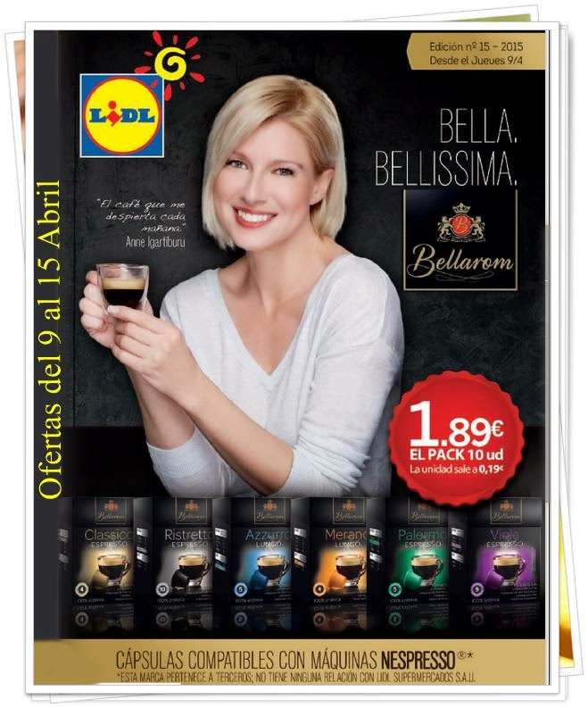 Catalogo Semanal Lidl 9 abril 2015