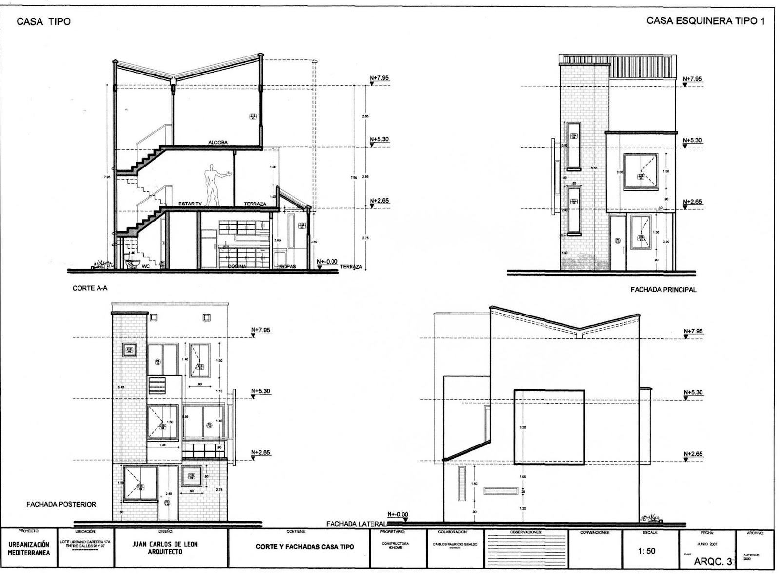 Dibujo De Proy Ejecutivos En La Construccion 06