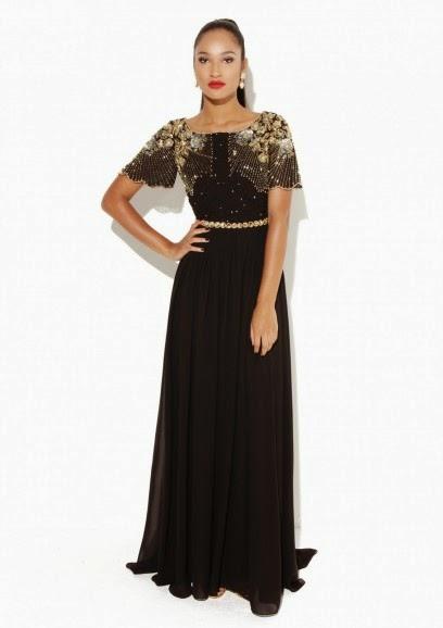 Virgos Lounge long black dress