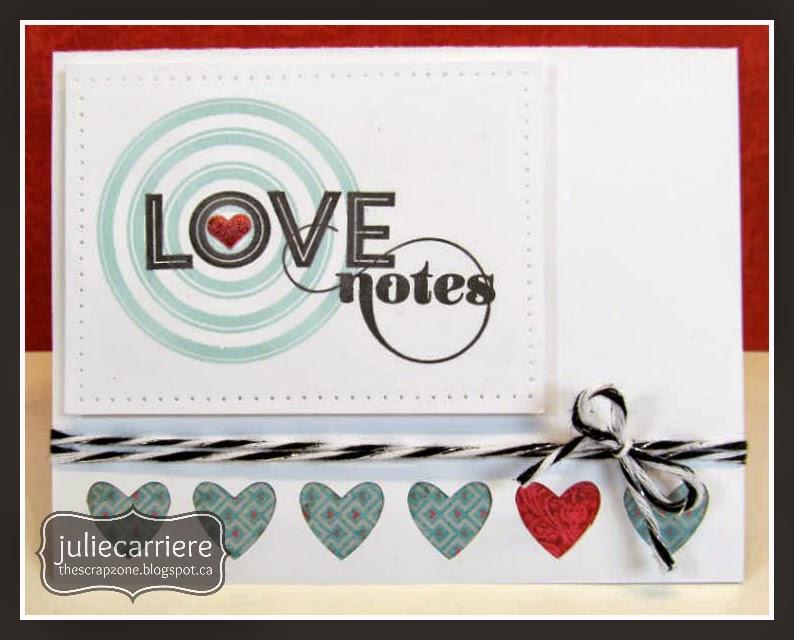 CTMH Valentine Card