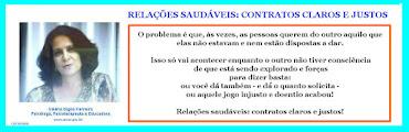 RELAÇÕES SAUDÁVEIS = CONTRATOS CLAROS E JUSTOS