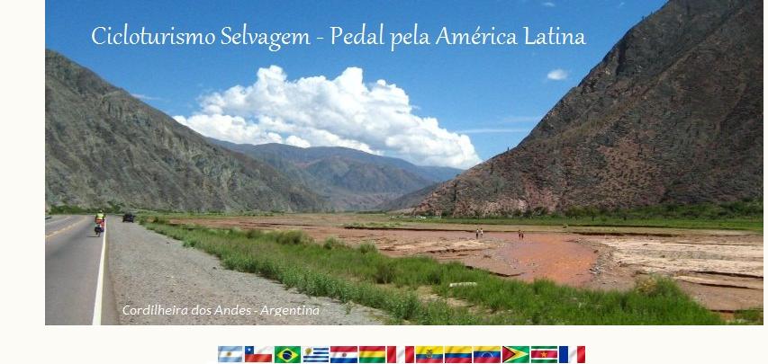 Cicloturismo Selvagem - Pedal pela América Latina