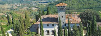 Enjoy a vacation at Castello Vicchiomaggio near Greve in Chianti