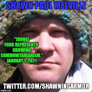 Twitter with Shawn Paul Melville - click pic