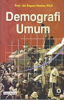 toko buku rahma: buku DEMOGRAFI UMUM, pengarang ida bagoes mantra, penerbit pustaka pelajar