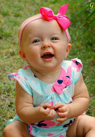 Smile Babies Photos With Sky Blue Dress Pictures