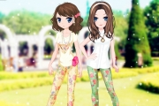 2 Şeker Gibi Kız Giydir Oyunu