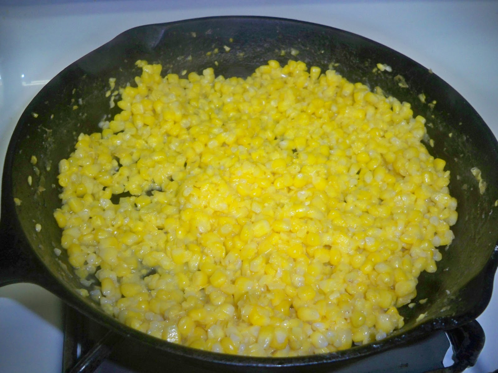 Gramma's in the kitchen: Skillet Fried Sweet Corn
