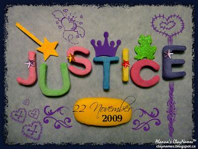 Justice November 22 2009