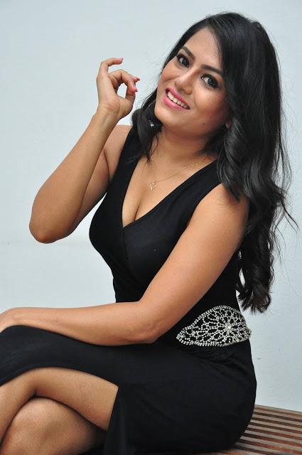 Mousumi Stills At Pramadam Movie Trailer Launch