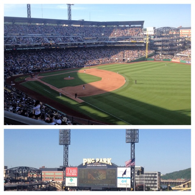 Pittsburgh, moving, reflection, recollection, Pittsburgh Pirates, baseball, PNC Park
