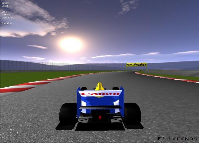 F1 Legends papel de parede
