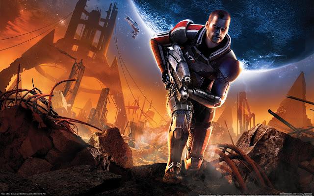 Mass Effect 2 Fondos de Pantalla de Juegos