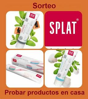 Sorteo Lote dentífricos SPLAT