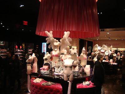 Loja de Victoria Secrets, em New York