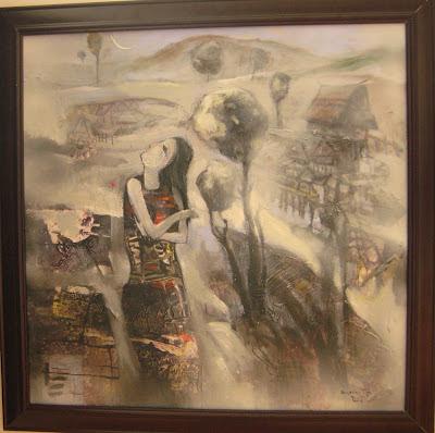 Tác phẩm hội họa về đề tài Tây nguyên 14