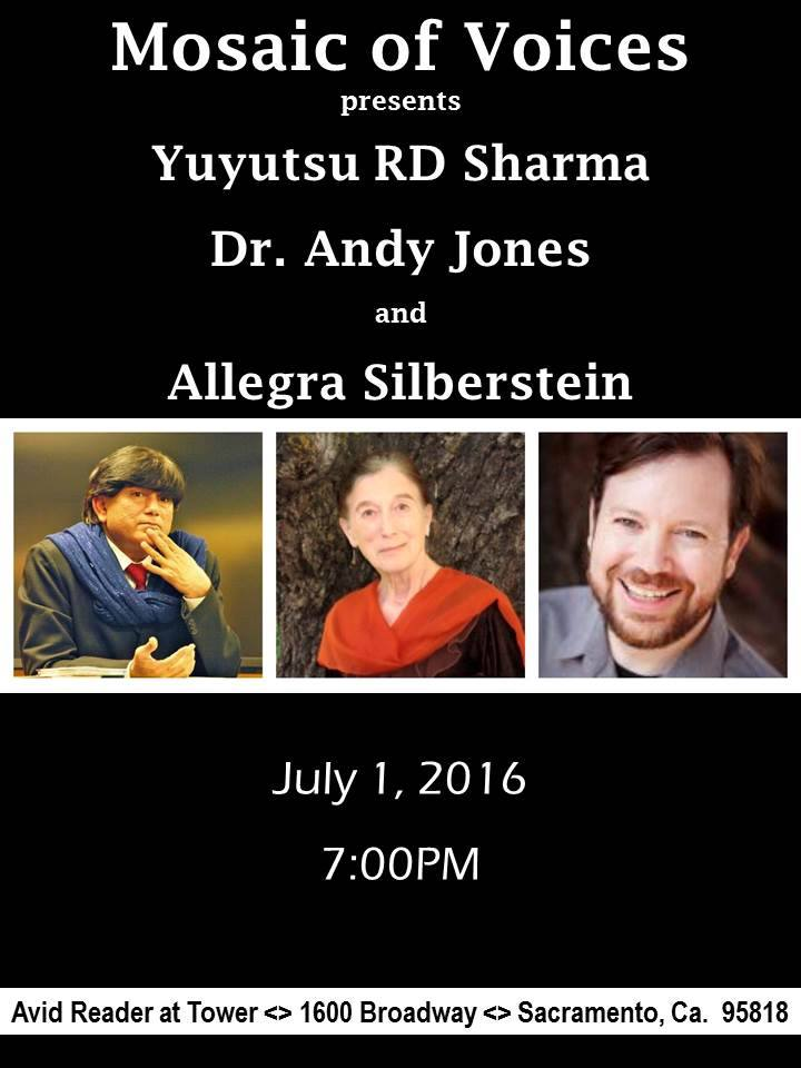 SHARMA, JONES & SILBERSTEIN in Sac. Fri. (7/1)
