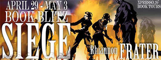 GIVEAWAY and GUEST POST: Siege by Rhiannon Frater