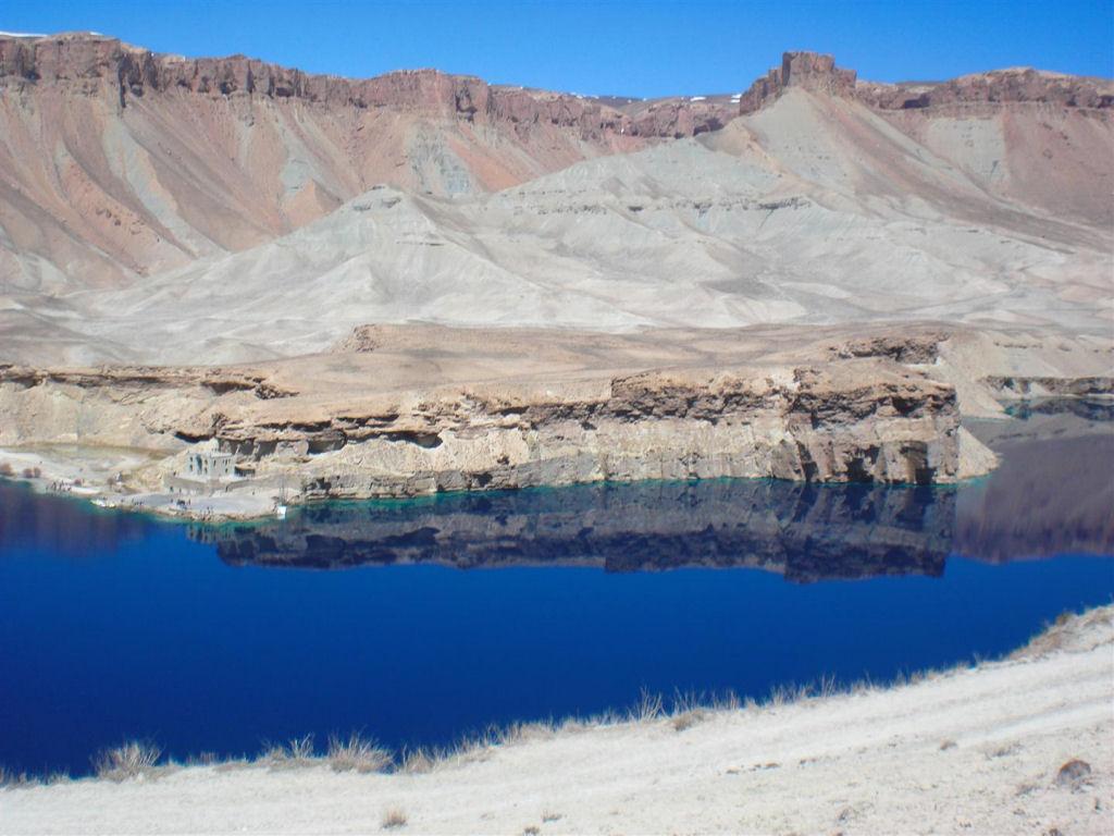 Lagos de azul profundo de Band-e-Amir - Patrimônio Mundial da UNESCO