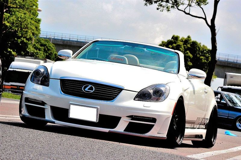 Lexus SC, Toyota Soarer, Z40, SC430, V8, RWD, galeria, gleba, stance