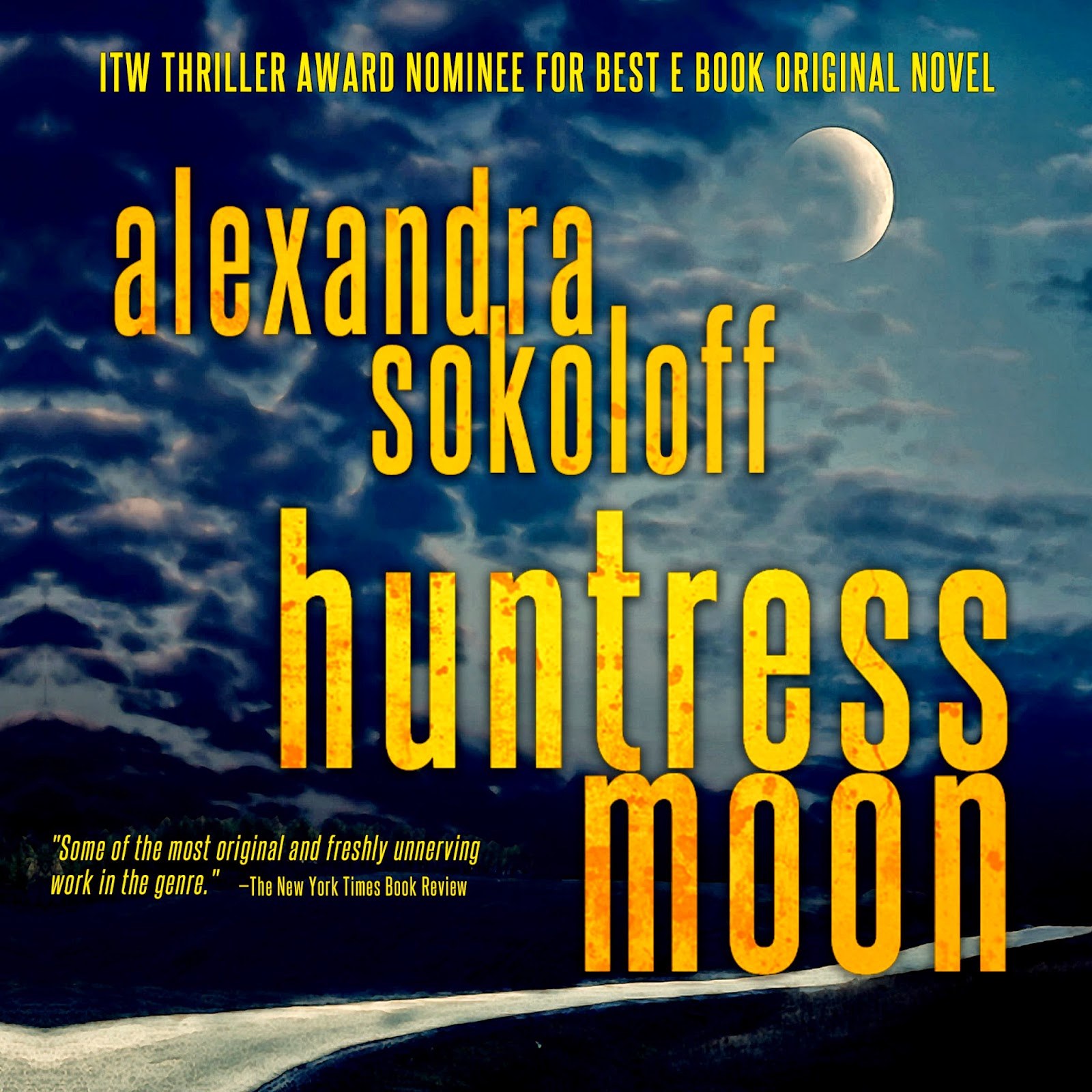 As A Welcome Back To Murderati, I'm Giving Away A New Audiobook Of Huntress  Moon Justment To Be Eligible!