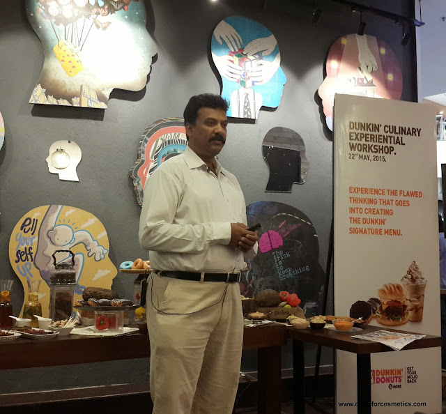 CEO of Dunkin Donuts Dev Amritesh