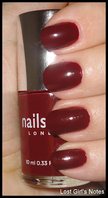 nails inc. st. pancras swatches