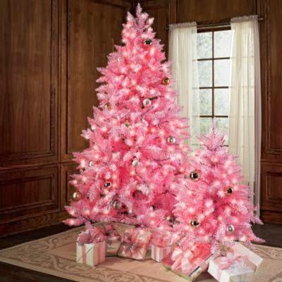 Fotos de rboles de navidad color rosa colores en casa - Arboles de navidad rosa ...