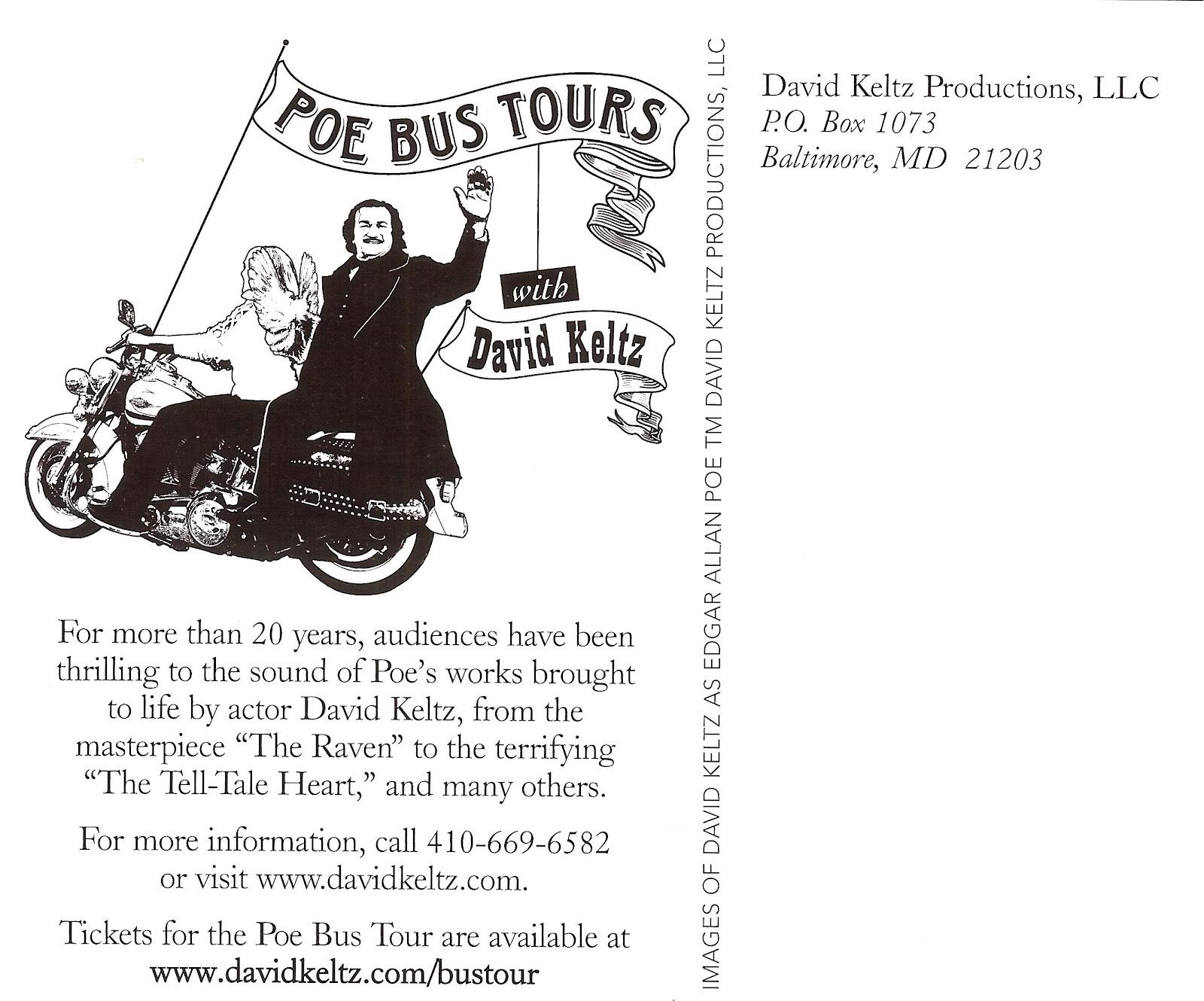 David Keltz Bus Tour