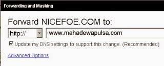 cara setting domain dari godaddy
