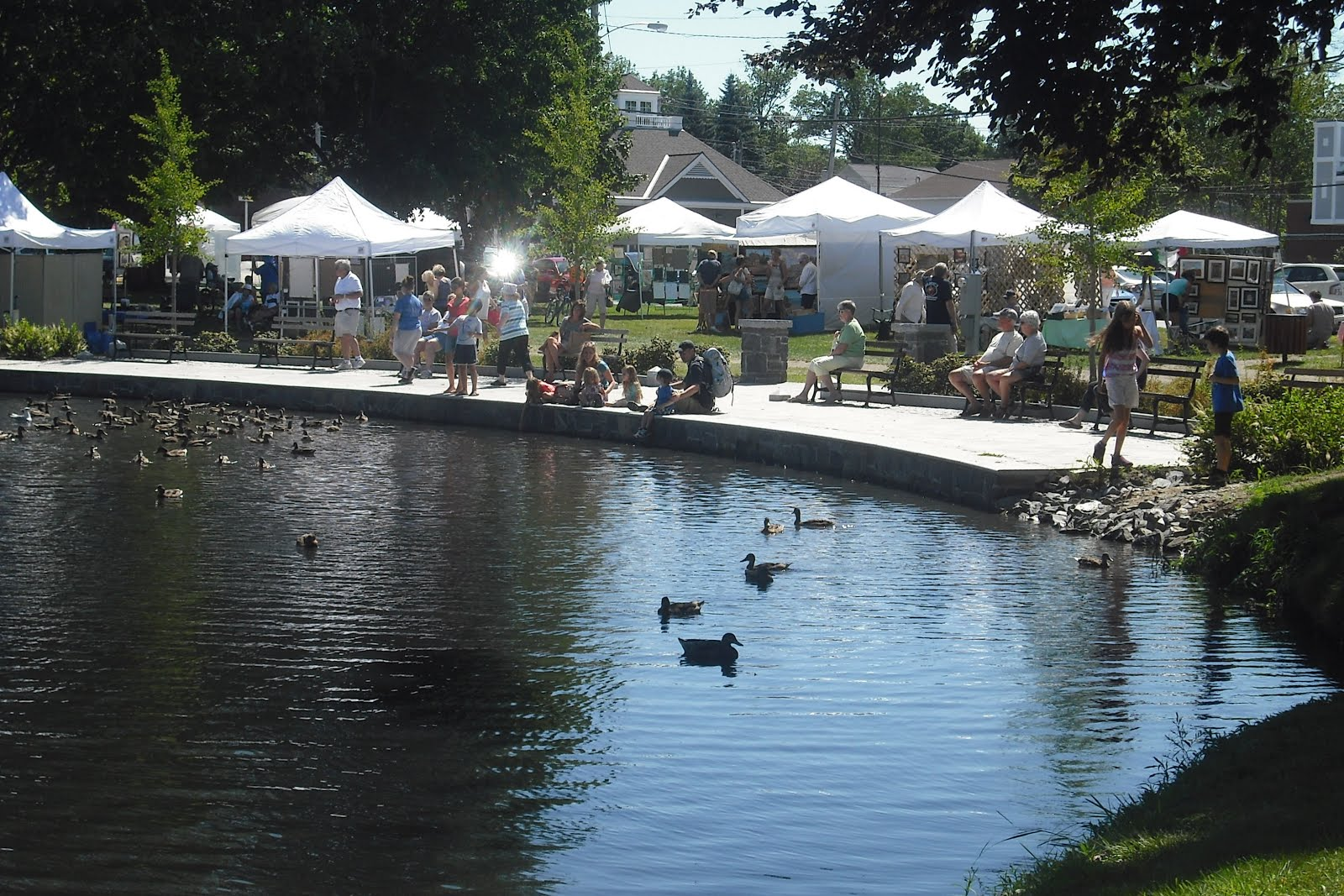 2014, August 8, South Portland Art in the Park, 9-4