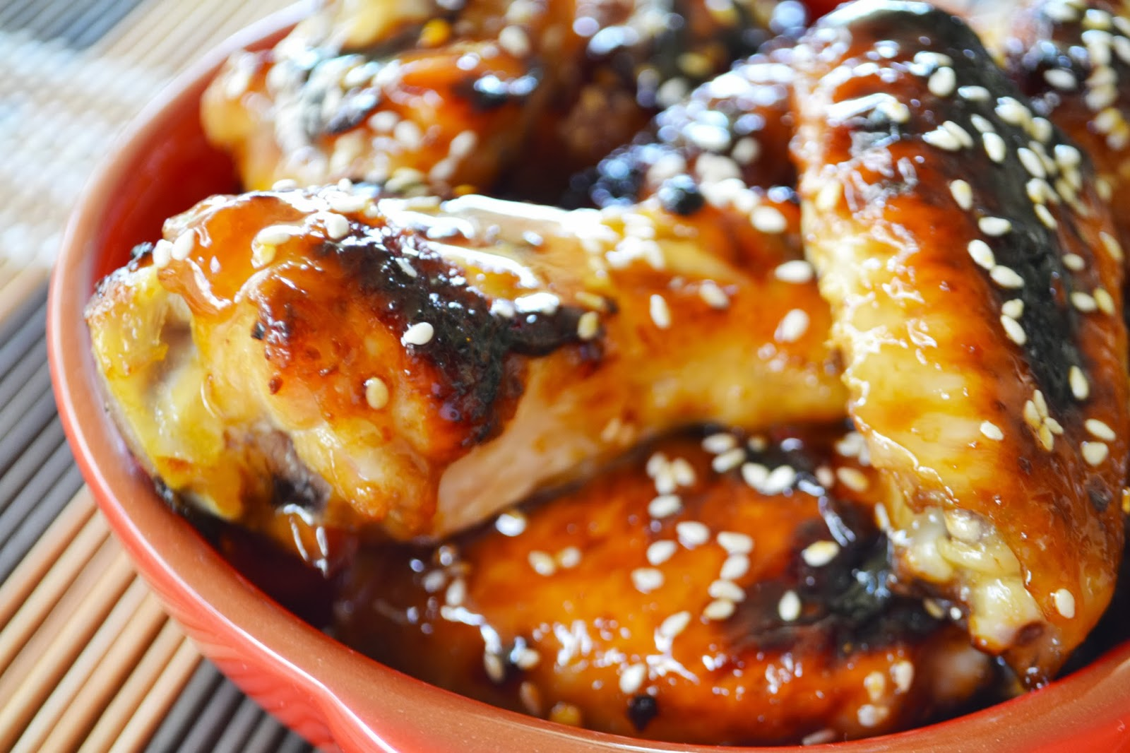Sticky Honey Soy Chicken Wings