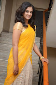 Nanditha raj latest photos in half saree-thumbnail-7