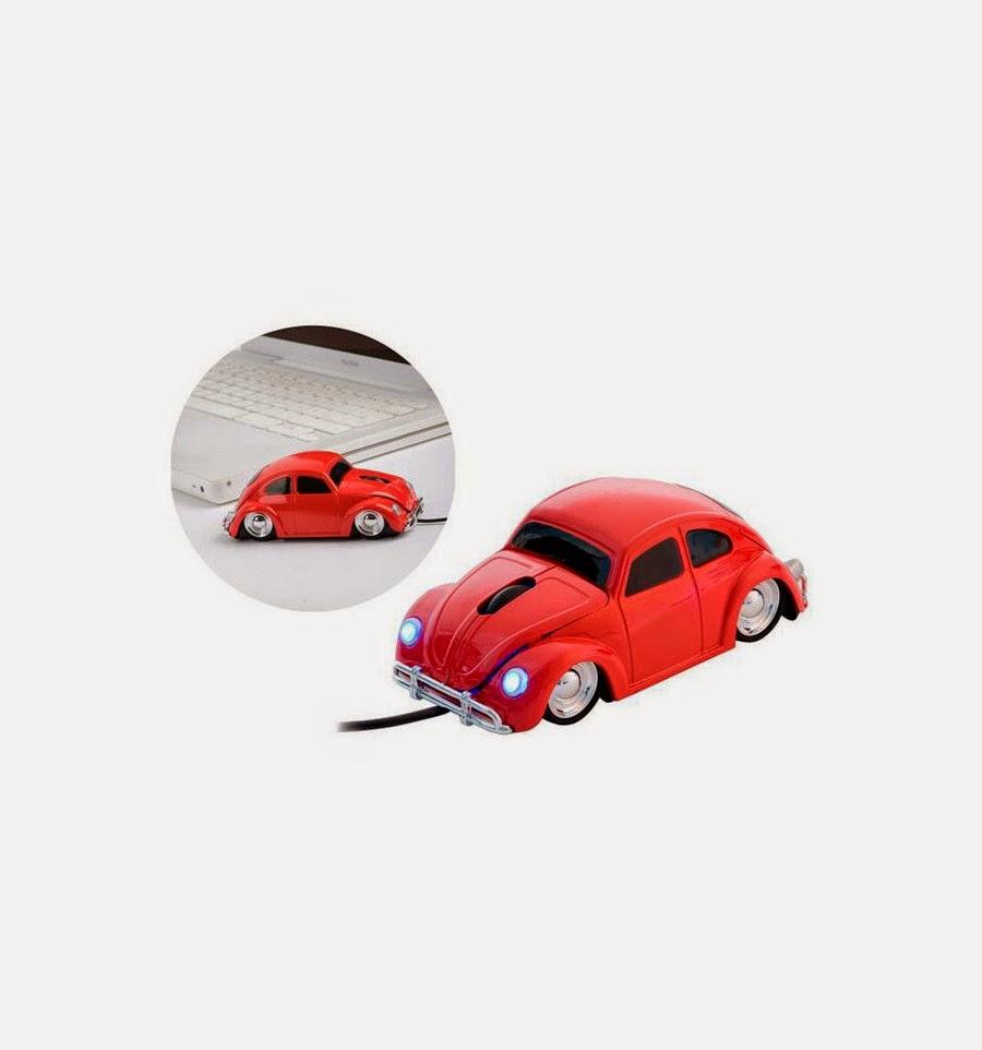 Ratón de ordenador Coche Escarabajo