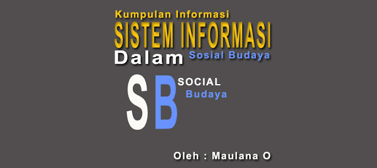 Sistem informasi dalam sosial budaya