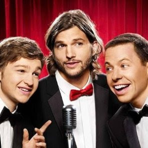 Video nova abertura Two and a Half Men com Ashton Kutcher
