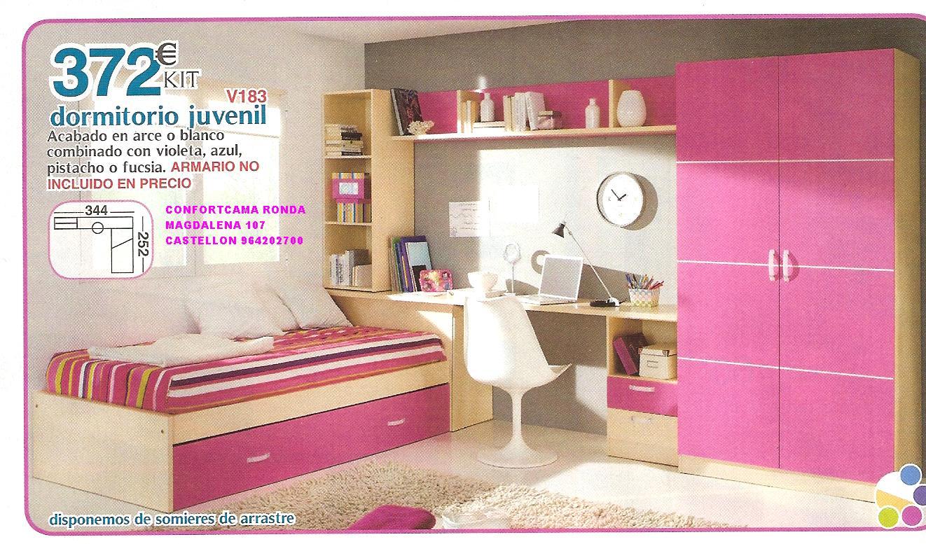 muebles oferta kit dormitorios juveniles