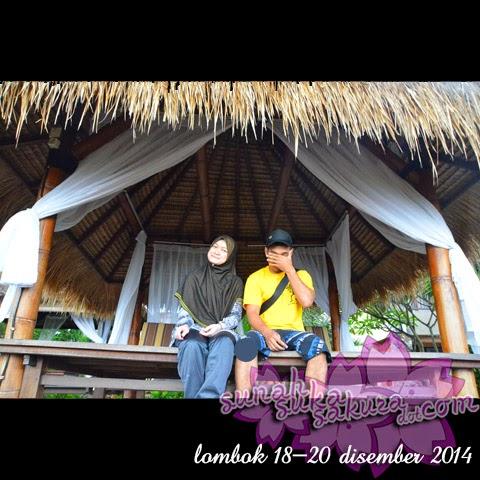 Percutian ke Lombok: Hari Kedua - Air Terjun Benang Stokel dan Benang Kelambu