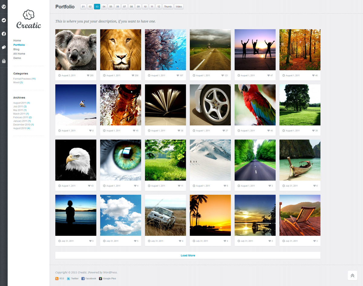 Creatic-Portfolio-Best-WordPress-Templates