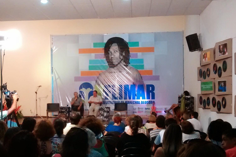 Laurentino Gomes na FLIMAR - este ano em homenagem a Djavan.
