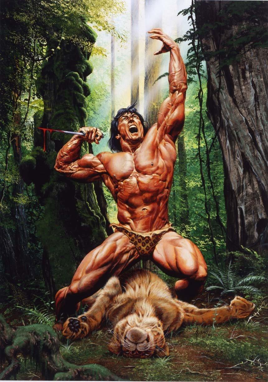 Тарзан членомонстр джунглей порно онлайн 16 фотография