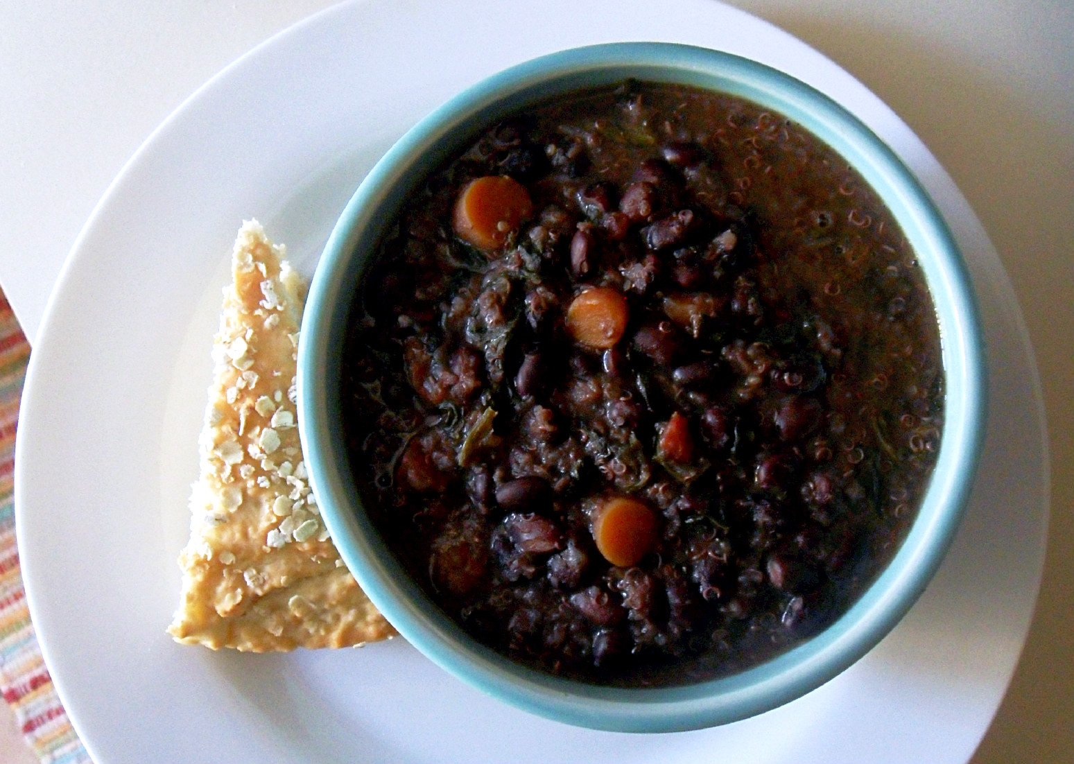 Cooking to Perfection: Black Bean and Quinoa Soup