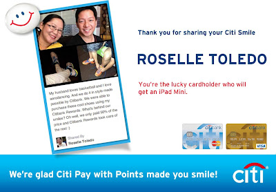 My Citibank Smile Story